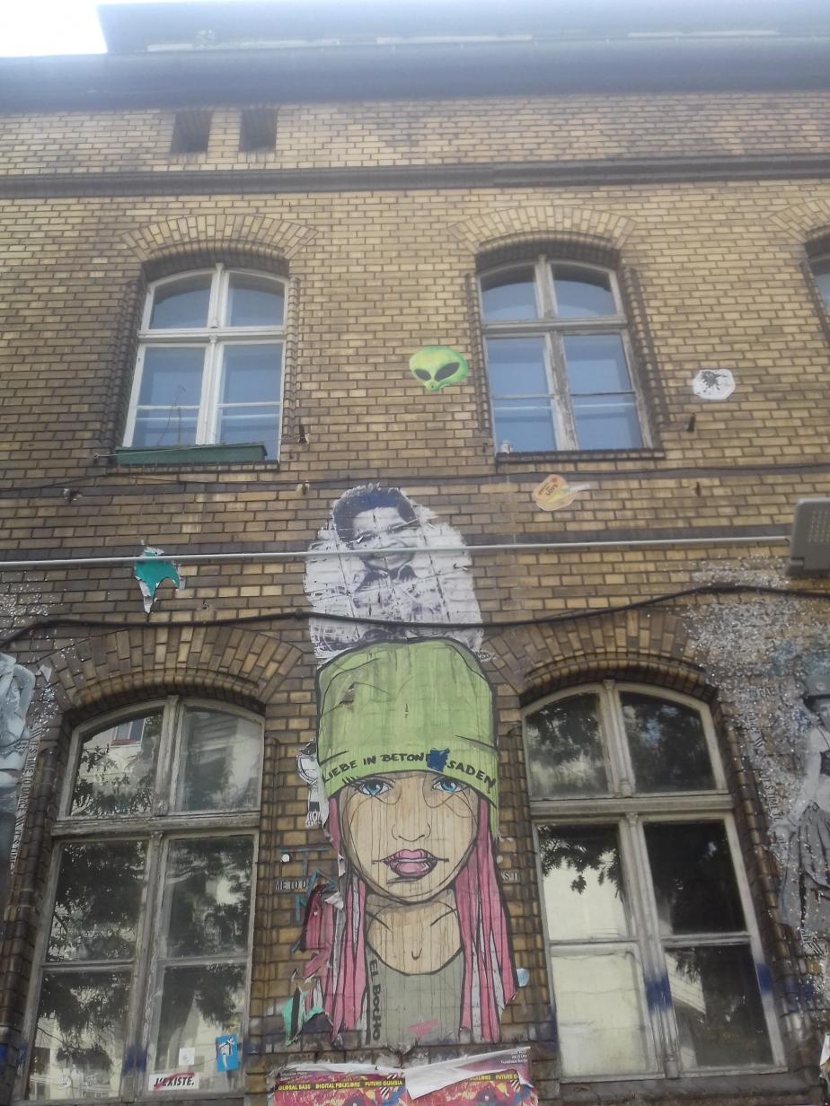Berlin mon amour #StreetArt (ou comment rendre une ville moinsmoche)