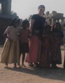 Anna en Inde