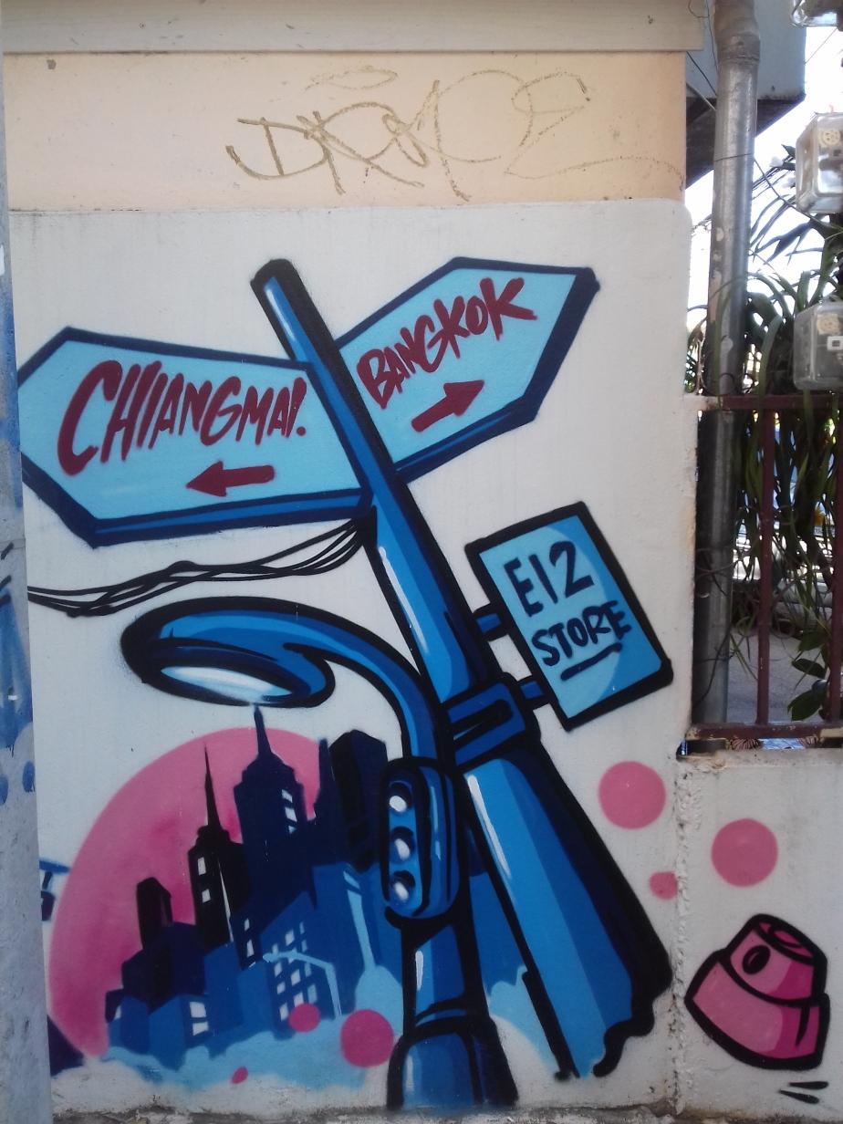 Street Art enThaïlande