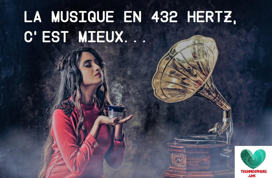 La musique en 432 hertz, c'estmieux…