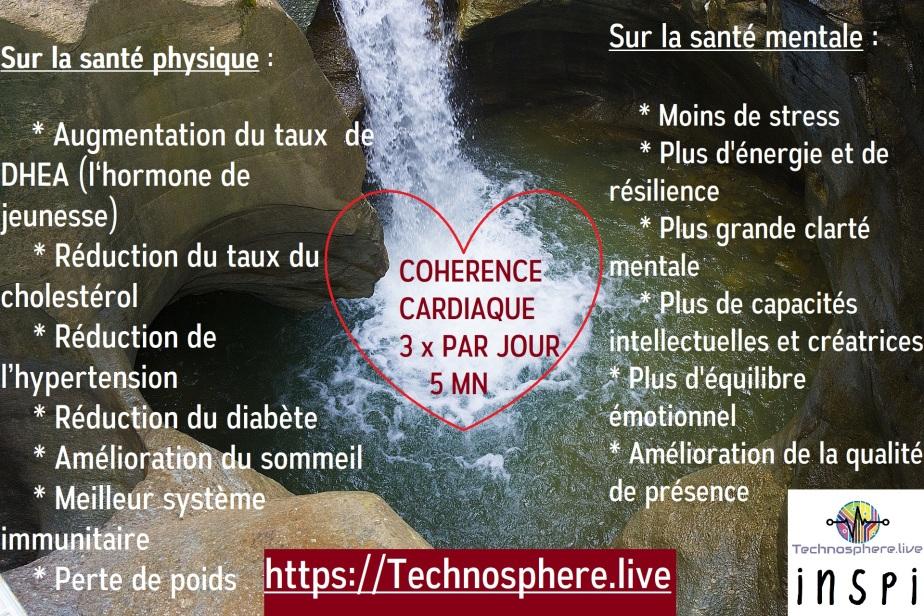 coherence cardiaque by technsophere cf David Servan Schreiber, livre guérir